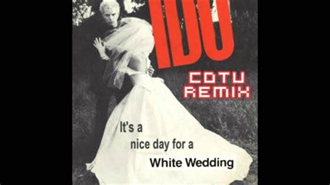 12 Inch Single White Wedding Chrysalis Label