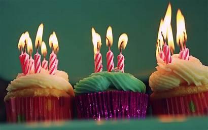 Birthday Happy Cupcake Cupcakes Candles Heer