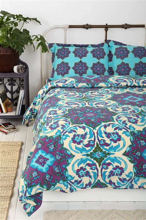 magical thinking azo medallion duvet cover urban outfitters