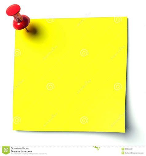 yellow sticker royalty  stock  image