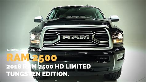 Nmax 2018 Limited Edition by 2018 Ram 2500 Hd Limited Tungsten Edition