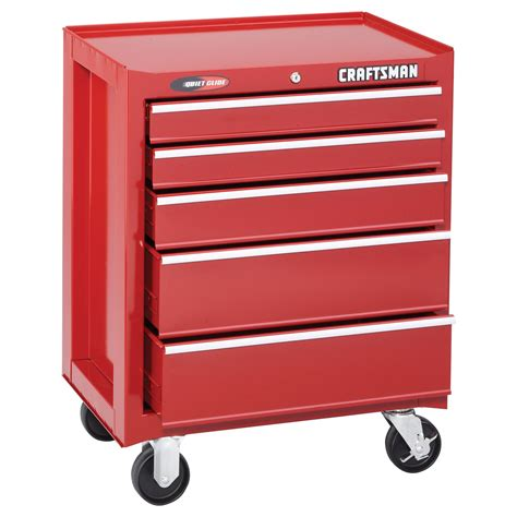 """Craftsman 26"""" Wide 5drawer Quiet Glide™ Bottom Chest. Pneumatic Lift Table. Kidney Table For Sale. Extra Long Twin Bed Frame With Drawers. Charging Station Desk"""