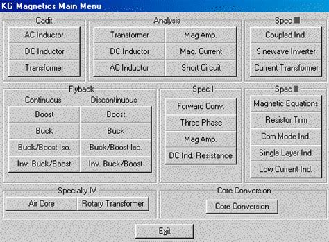 menu design software
