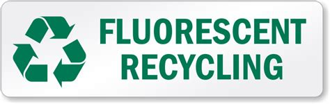 fluorescent l recycling collection light bulb recycling labels