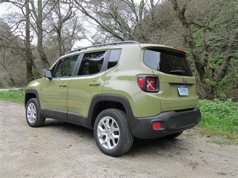 green jeep renegade 2015 jeep renegade first drive