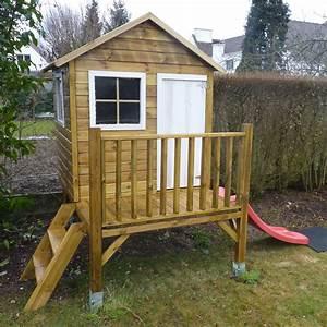 Cabane En Bois De Jardin : cabane en bois peinte les cabanes de jardin abri de ~ Dailycaller-alerts.com Idées de Décoration