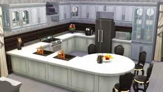 white dining room sets sims 4 room black white kitchen sanjana sims