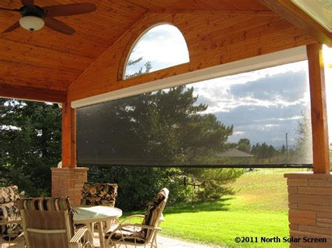 outdoor solar shades for patios pin by solar screen llc on outdoor shades