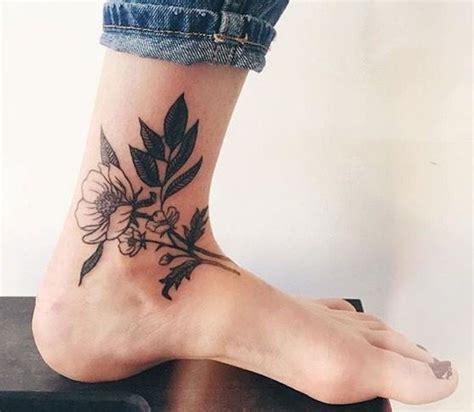idees tatouages cheville femme