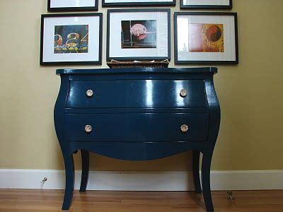 chest painted high gloss rainstorm by sherwin williams