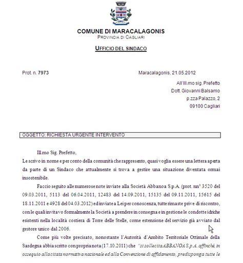 lettera al condominio ecco la lettera del sindaco di maracalagonis antonella