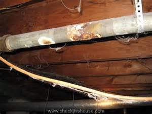 crawlspace plumbing problems checkthishouse