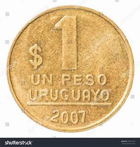 One Uruguayan Peso Coin Stock Photo 108817220 - Shutterstock