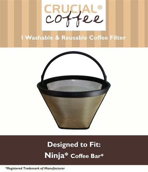 If i do have coffee it is south indian filter coffee. Washable & Reusable Coffee Filter for the Ninja Coffee Bar ...
