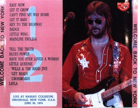 eric clapton quot can t find my way home quot guitar tab eric clapton welcome back to new york New