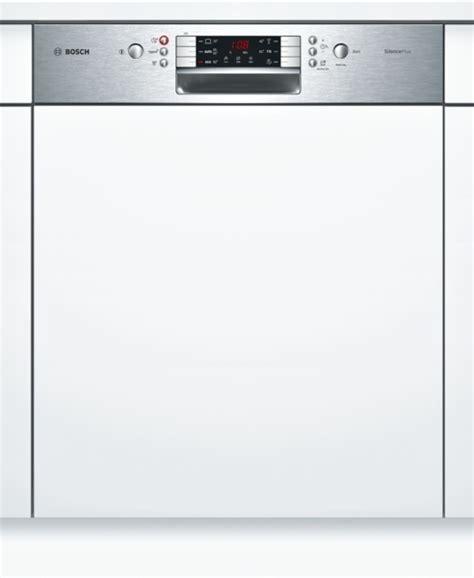 bosch geschirrspüler integrierbar 60 cm bosch smi46ks01e silence plus geschirrsp 252 ler 60 cm integrierbar edelstahl hai end