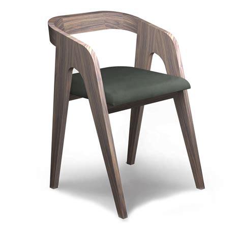 the walnut chair salome savelon meubles design