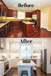 Fixer Upper Küche : white ikea modern farmhouse style kitchen fixer upper before after pinterest neue k che ~ Markanthonyermac.com Haus und Dekorationen