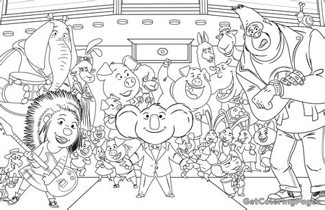 Kleurplaat Sing by Children Singing Coloring Pages Printable Coloring For