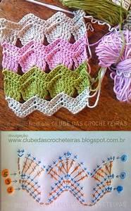 Crochet En S : 25 melhores ideias sobre crochet em zigue zague no ~ Nature-et-papiers.com Idées de Décoration