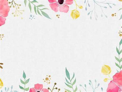 Powerpoint Background Backgrounds Cool Designs Templates Watercolor