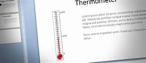 how to make a fundraising thermometer for powerpoint With fundraising presentation template
