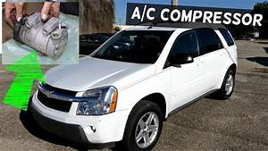 Chevrolet Equinox Ac Compressor Replacement Pontiac Torrent
