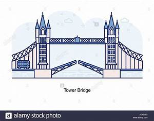 Tower Bridge London Stock Vector Images