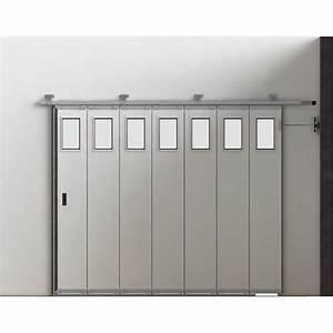 Porte De Garage Sectionnelle Latérale : porte de garage sectionnelle lat rale cassette avec hublots la toulousaine oporte ~ Melissatoandfro.com Idées de Décoration