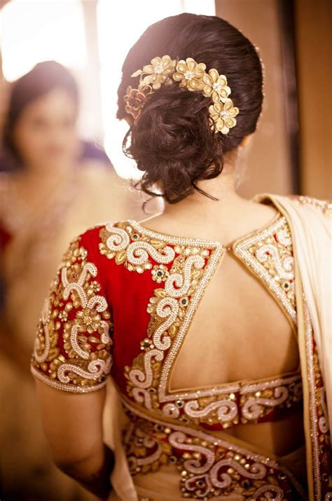 Indian Bridal Hairstyles for Short & Medium Hair