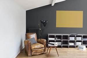 peinture 70 couleurs pour tout repeindre dans la maison With photo peinture salon 2 couleurs 13 meuble bureau