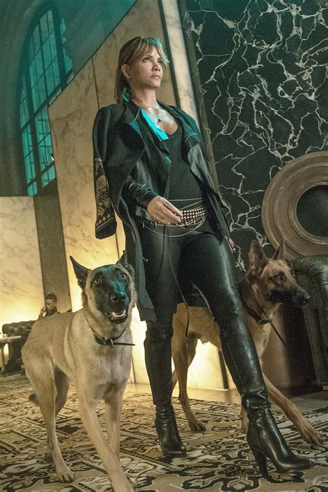 halle berry filming   john wick chapter