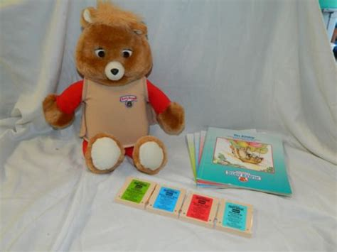 Teddy Ruxpin & Accessories Collection On Ebay