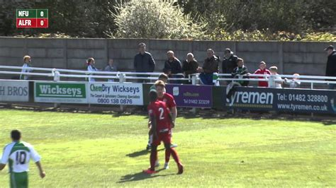 North Ferriby United vs Alfreton Town Highlights - YouTube
