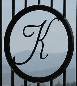 67 best portoes images on pinterest iron doors garden With wrought iron outdoor monogram letters