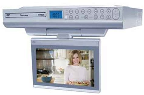 kitchen cabinet dvd venturer klv39082 8 inch undercabinet kitchen lcd tv dvd 2487