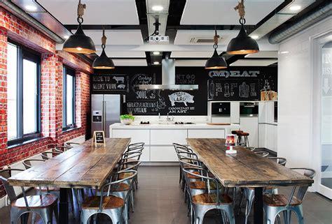amenagement coin cuisine comment aménager et décorer une cuisine en entreprise