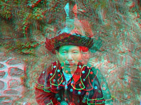 3d Photo by Mutianyu Great Wall Of China 3d Photo Anaglyph 3d Photo