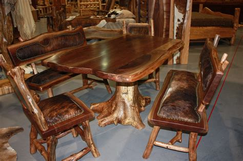 Rustic Wood Dining Room Tables