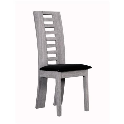 4 chaises pas cher lynea ensemble repas décor bois gris cendré 5 pièces 1