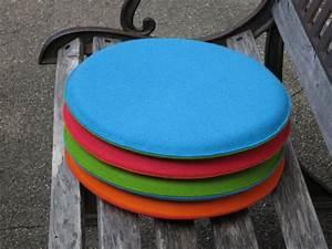 Sitzkissen Rund 50 Cm : sitzkissen aus filz rund durchmesser 40 cm bei tischlerei kloepfer ~ Orissabook.com Haus und Dekorationen
