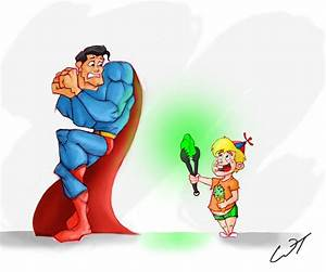 The WazBlog: Superman vs A Clever Child with Kryptonite ...