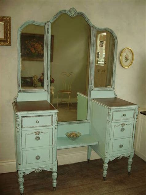 shabby chic bedroom vanity hand painted distressed shabby chic vintage vanities by my paris apartment traditional