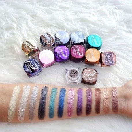 la colors powder kit de 12 iced pigment powder l a colors zelar shop