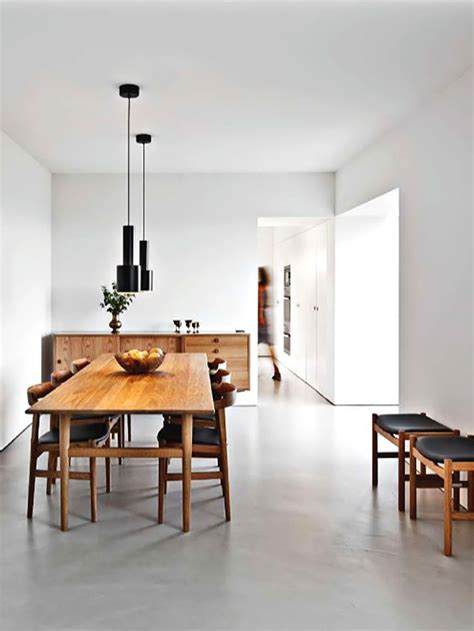 Beautiful Floor Inspiration  Minimalist Dining Room