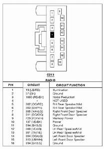 Ford Stereo Wiring 1999 E 250
