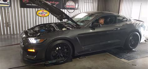 575 Hp Hennesey 2016 Mustang Shelby Gt350 Brings The