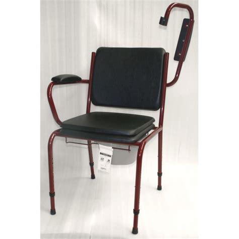 chaise percee chaise percée avec accoudoirs escamotables gr 15