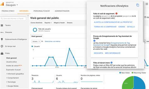 Falta El Código De Seguimiento En Google Analytics