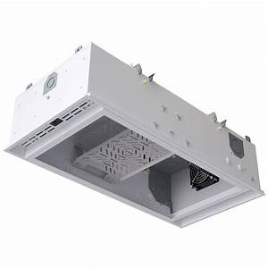 Plastic recessed box ceiling electrical drop